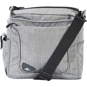 KlickFix Allegra Fashion Bike Pannier grey